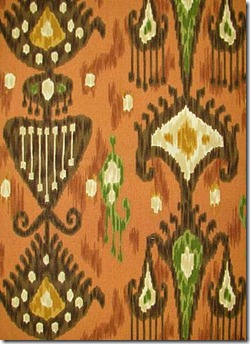 Ve Used This Ikat Fabric By Robert Allen Pattern Kathandi Color