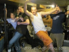 boys dancing to Dance Central