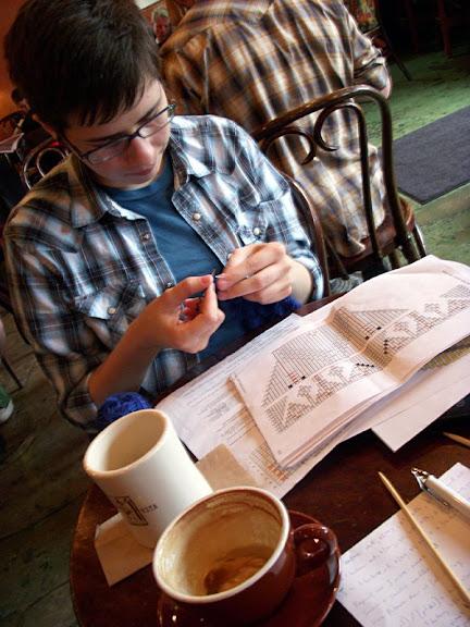 Knitting In Public : Knitting in public knitpicks staff