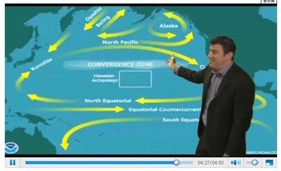 Hawaii in 'convergence zone'