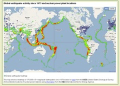 Earthquake - nuclear mashup