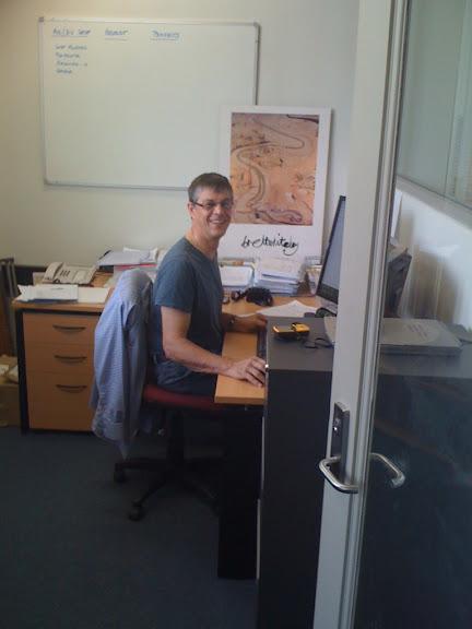 Ian Johnson - my illustrious director
