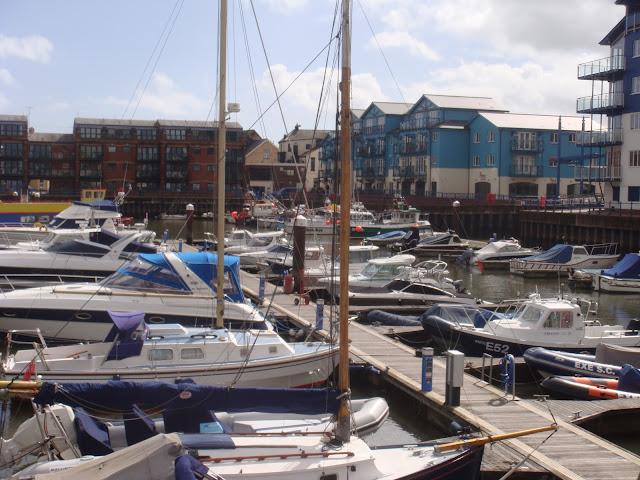 Barcos de Exmouth