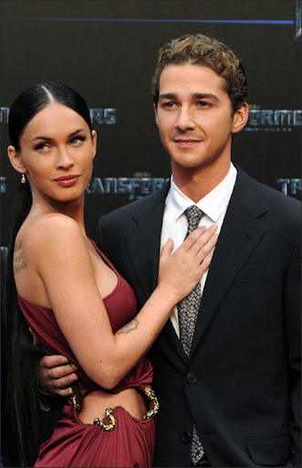 shia labeouf and megan fox transformers 2. sexy megan fox leaked photos