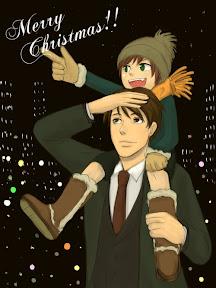 – クリスマスフリー絵