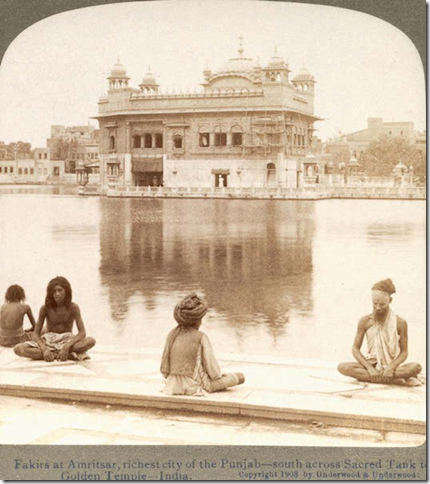 Fakirs at Golden Temple, Amritsar
