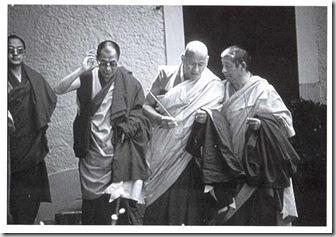Arriva il Dalai Lama 1979