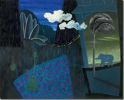 Nuvole 2, 2006 olio su tela, 160 x 200 cm