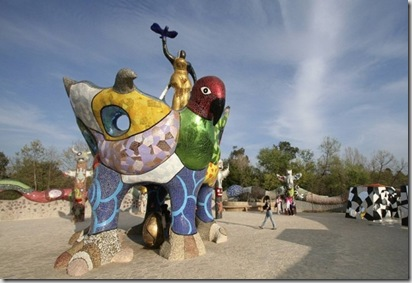 Queen Califia's Magical Circle was dedicated and opened to the public on October 26, 2003 in Escondido, California