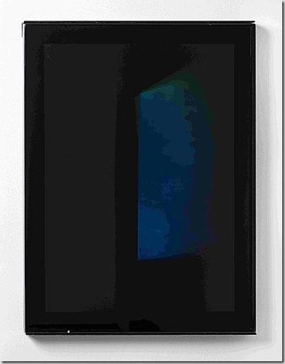 James Turrell -Los Angeles, Cal. 1943- Senza titolo 2002 Ologramma Collezione privata