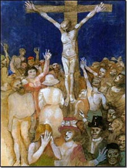 Crocifissione (1970) di Franco Gentilini