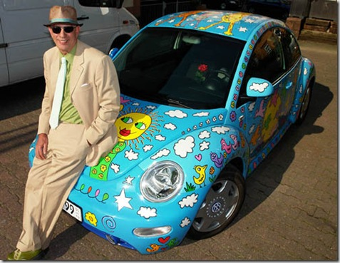 James Rizzi w/ Rizzi Beetle, 2006