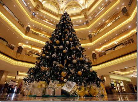 CORRECTION Emirates Christmas Tree
