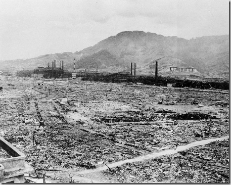 NAGASAKI DESTRUCTION 1945