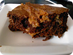 Dulce De Leche Brownies 015