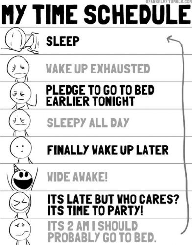 My Sleep Schedule