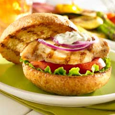 Grilled Chicken Sandwiches With Basil Aioli