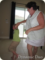 dancing with nonnie - aj