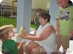 boys help nonnie, check out rals adoring aj