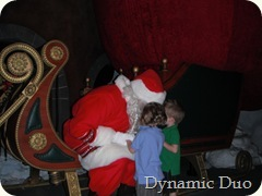 santa, i want a digger and a firetruck (2)