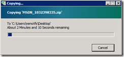 Copying from desktop to Remote Desktop and vice versa