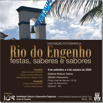 Convite - Rio do Engenho, festas, saberes e sabores 2