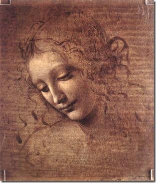 Female _Head_ Leonardo Da Vinci