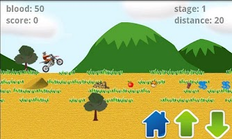 Screenshot of Hurry Bike