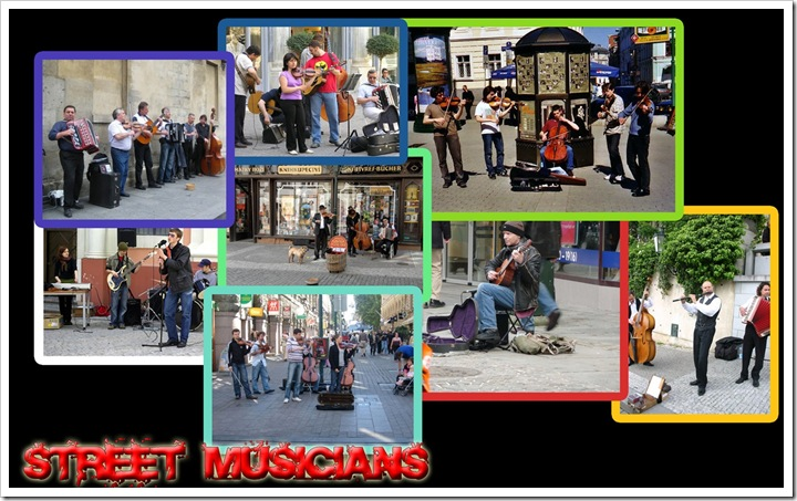 Street Musicians by Factual Solutions