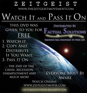 DVD Cover by Factual Solutions