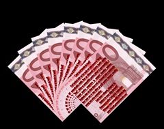 10 Romanians Euro Notes - Version by Factual Solutions