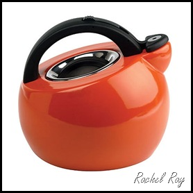 Rachael Ray Ball Style 2 Qt. Tea Kettle in Orange