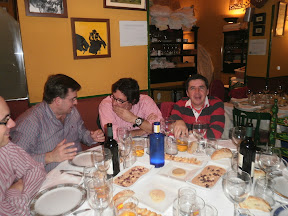 Bermejo, Gravel, Tommy y Saulo