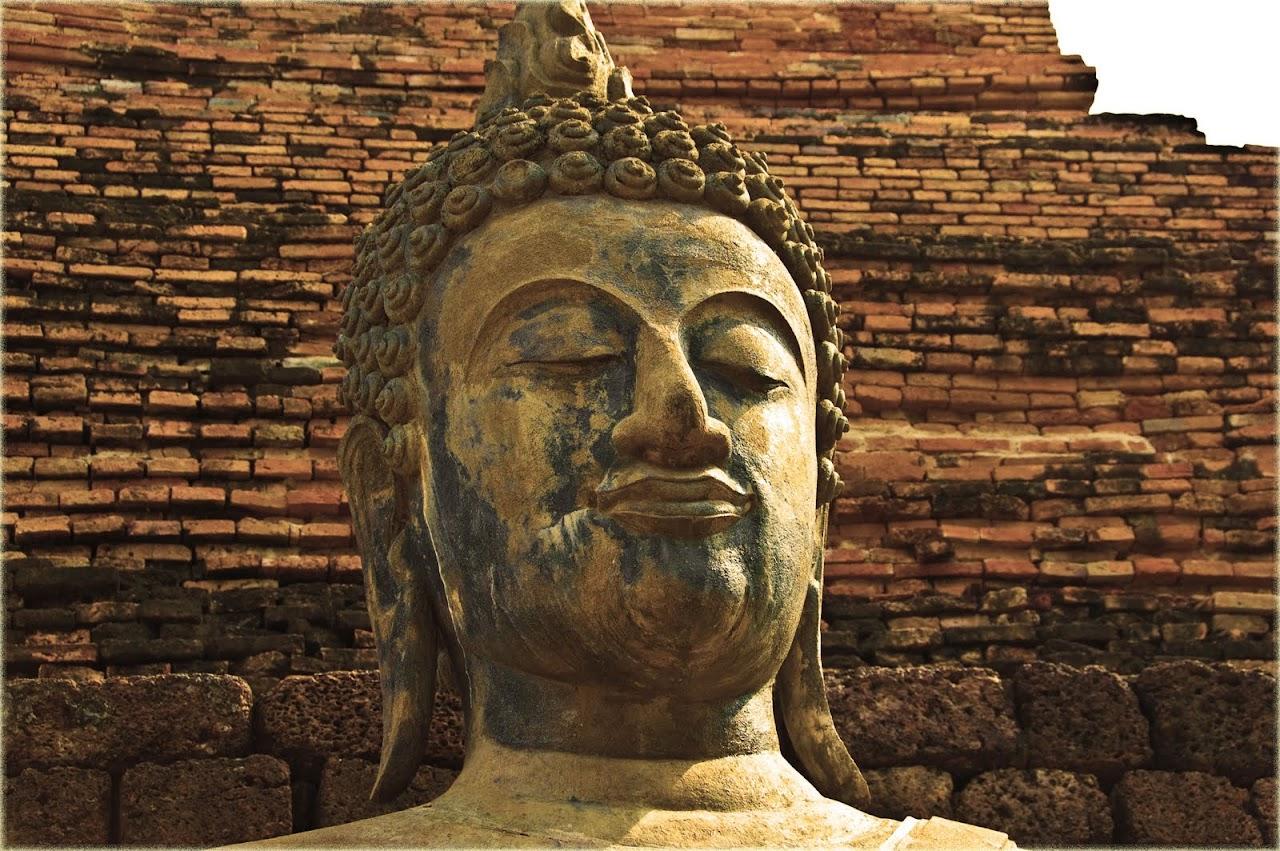 Serene Buddha at Sukhothai