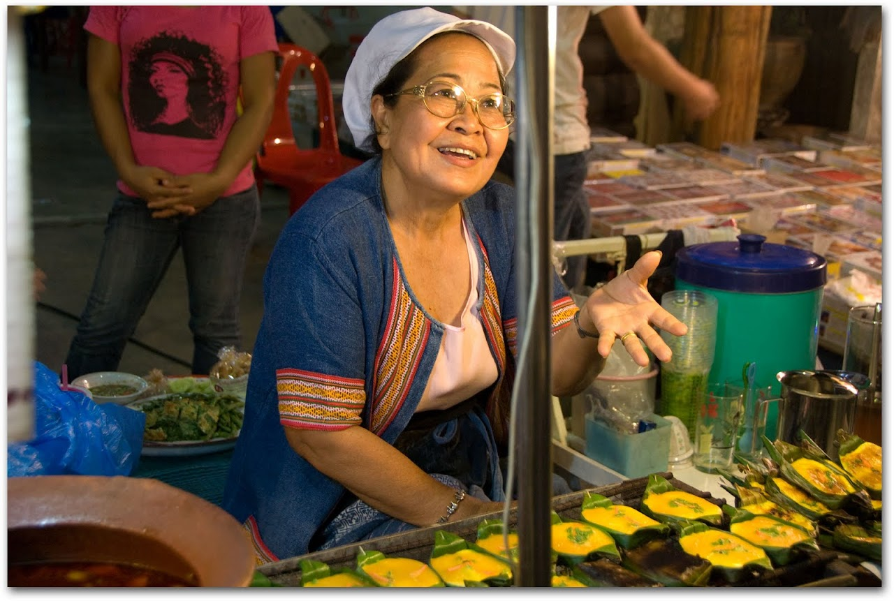 Woman at Lampang Night Market