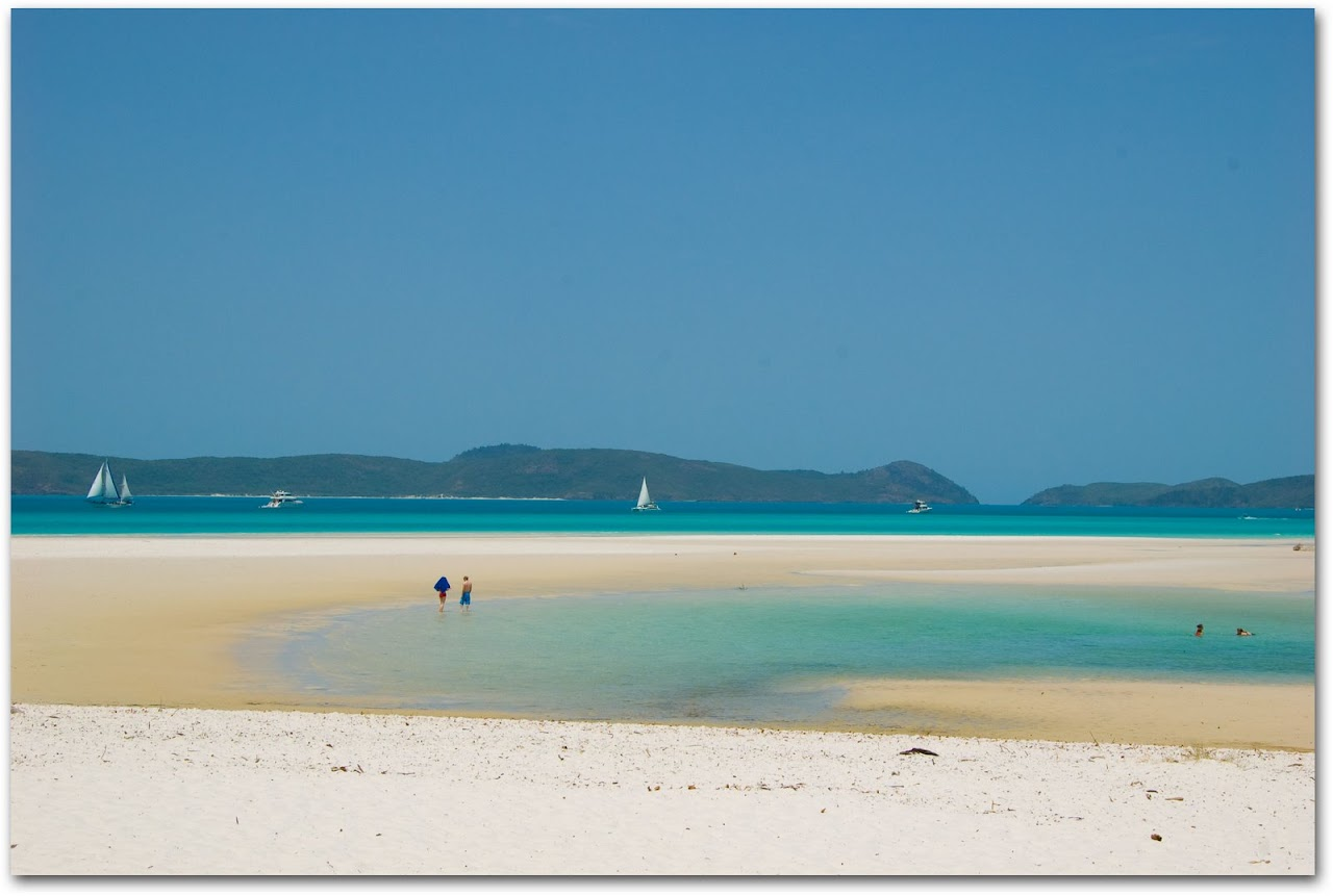 Betty's Beach on Whitsunday Islands