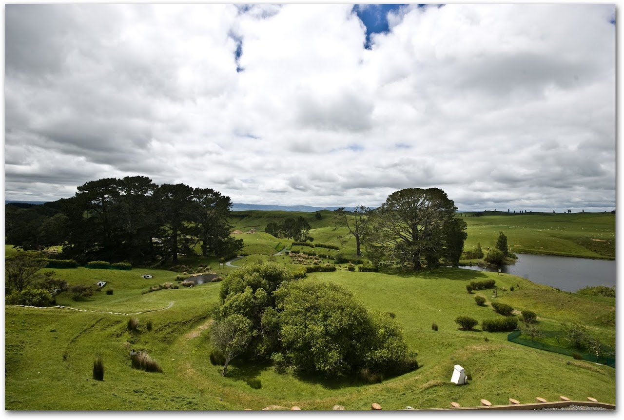 View of Hobbiton property