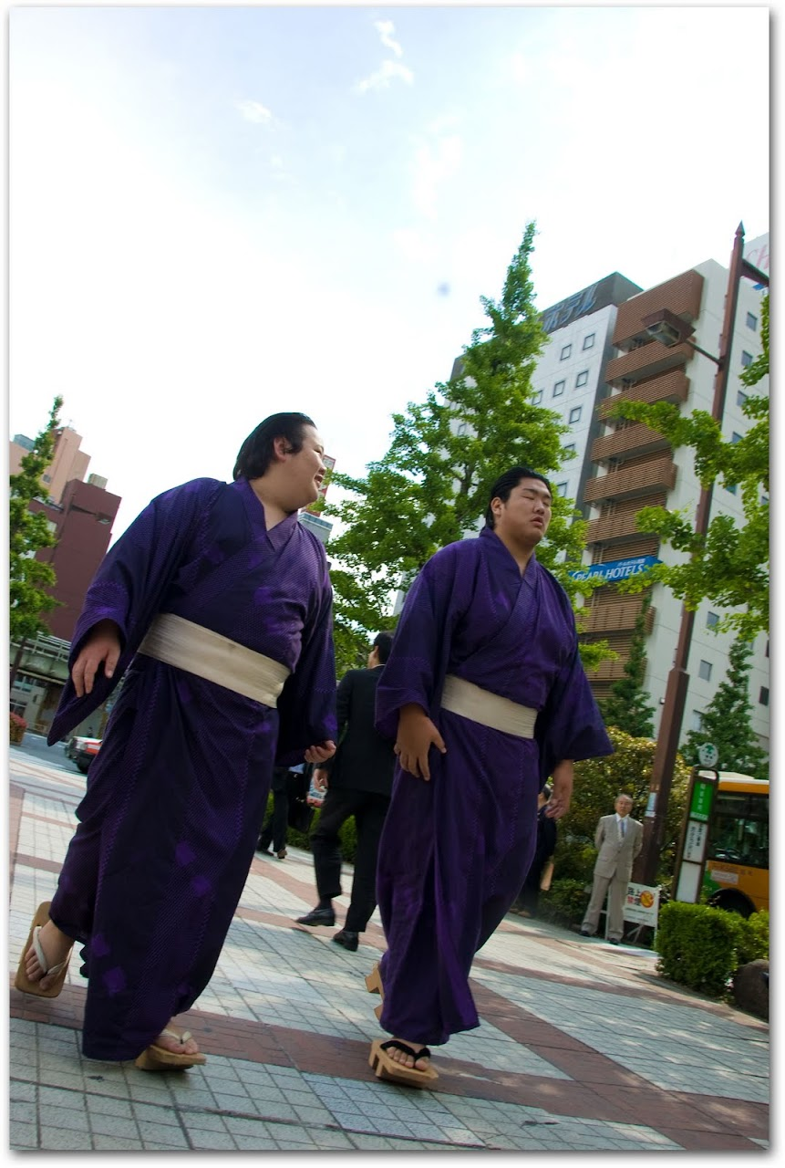Sumo wrestlers