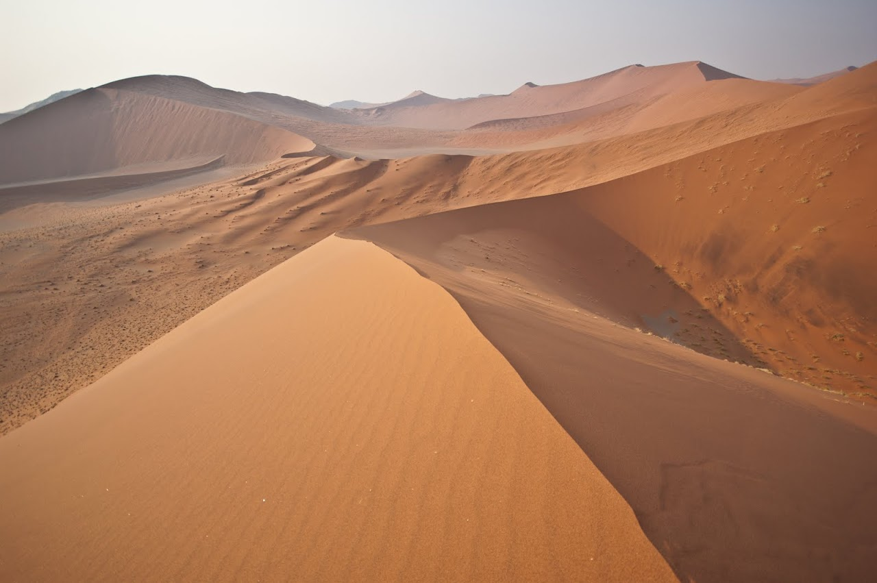 Dunes at Namib desert