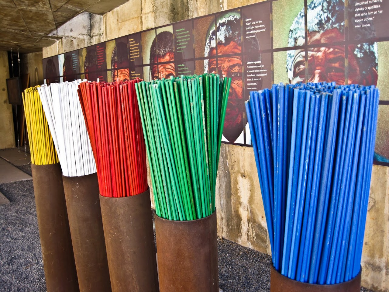 Colors at Mandela exhibit