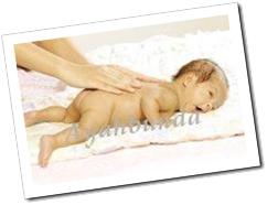 Persiapan Memijat Bayi…