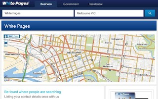 Screenshot of White Pages® Australia