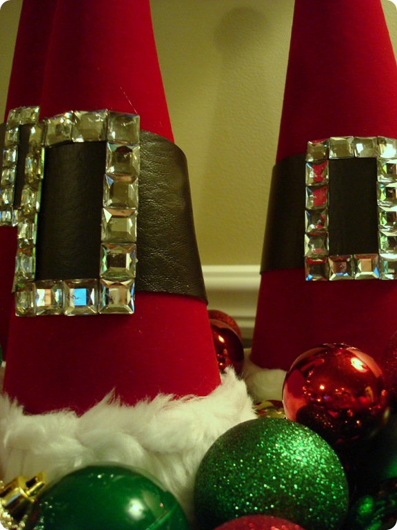cute Santa hat craft