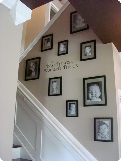 Thrifty Decor Chick: The staircase is done! (