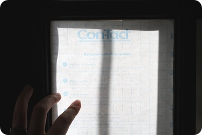 contact paper on windows