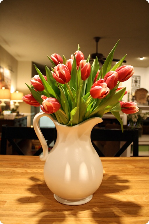 pottery barn inspired pitcher