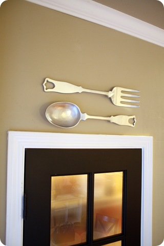 fork and spoon set