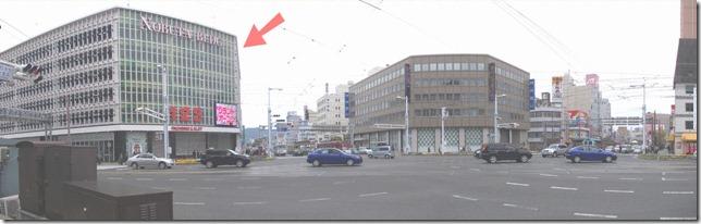 2011年04月30日はりまや橋交差点
