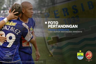 Foto Persib vs Sriwijaya FC 2009-2010