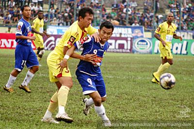 Airlangga Persib vs Sriwijaya FC 2009/2010